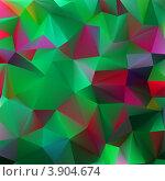 Купить «Абстрактный объемный геометрический фон», иллюстрация № 3904674 (c) Владимир / Фотобанк Лори