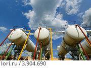 Газоперерабатывающий завод, Прилуки, Украина. Стоковое фото, фотограф Владимир Фалин / Фотобанк Лори