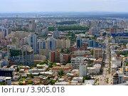 Панорама Екатеринбурга (2012 год). Редакционное фото, фотограф Госьков Александр / Фотобанк Лори
