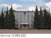 Купить «Административное здание, г. Туймазы», фото № 3909322, снято 1 июля 2012 г. (c) Роман Иванов / Фотобанк Лори