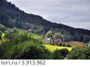 Купить «Домик в Норвегии», фото № 3913962, снято 23 октября 2008 г. (c) Estet / Фотобанк Лори
