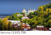 Купить «Исторический район Нижнего Новгорода», фото № 3915758, снято 19 июля 2012 г. (c) Яков Филимонов / Фотобанк Лори