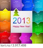 Купить «Календарь на 2013 год», иллюстрация № 3917498 (c) Anelina / Фотобанк Лори