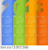 Купить «Календарь на 2013 год», иллюстрация № 3917506 (c) Anelina / Фотобанк Лори
