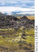 Купить «Выветривание вулканической лавы у подножия вулкана Горелый, Камчатка», фото № 3918454, снято 17 сентября 2011 г. (c) Игорь Долгов / Фотобанк Лори