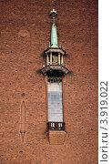 Ратуша,Стокгольм, Швеция (2012 год). Стоковое фото, фотограф Мария Шарапова / Фотобанк Лори