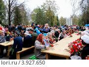 Солдатская кухня для ветеранов на 9 мая (2012 год). Редакционное фото, фотограф Фатима Арсамакова / Фотобанк Лори