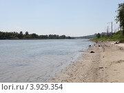 Берег Дона в Аксае (2012 год). Стоковое фото, фотограф Оксана Лычева / Фотобанк Лори