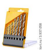 Сверла для дрели в коробке. Стоковое фото, фотограф Антон Стариков / Фотобанк Лори