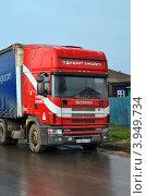 Купить «Город Заводоуковск. Кабина грузовика Scania 380», фото № 3949734, снято 4 мая 2012 г. (c) Александр Тараканов / Фотобанк Лори