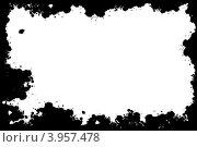 Абстрактные черные пятна на белом фоне. Стоковое фото, фотограф Felix Bensman / Фотобанк Лори