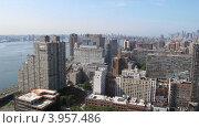Вид на Манхэттен и Ист-Ривер, Нью-Йорк (2012 год). Стоковое фото, фотограф Felix Bensman / Фотобанк Лори