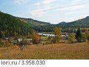 Осенний пейзаж. Стоковое фото, фотограф Сергей Зоммер / Фотобанк Лори