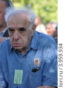 Купить «Поэт Евгений Рейн», эксклюзивное фото № 3959934, снято 6 июля 2012 г. (c) Голованов Сергей / Фотобанк Лори