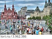 Купить «Вид на Красную площадь, Москва», эксклюзивное фото № 3962386, снято 24 июля 2012 г. (c) lana1501 / Фотобанк Лори