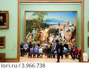 Купить «Третьяковская галерея. Москва», эксклюзивное фото № 3966738, снято 27 октября 2012 г. (c) Володина Ольга / Фотобанк Лори