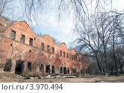 Парамоновские склады (2011 год). Стоковое фото, фотограф Даниил Безуглов / Фотобанк Лори