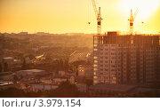 Купить «Стройка», фото № 3979154, снято 13 августа 2012 г. (c) Денис Демков / Фотобанк Лори