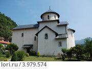 Купить «Монастырь Морача. Черногория.», фото № 3979574, снято 20 июля 2010 г. (c) Владимир Катасонов / Фотобанк Лори