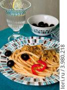 Купить «Макароны», фото № 3980218, снято 1 ноября 2012 г. (c) Екатерина Панфилова / Фотобанк Лори