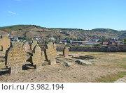 Купить «Древние христианские захоронения в городе Нови-Пазар, Сербия», фото № 3982194, снято 8 октября 2012 г. (c) Алексей Пугачев / Фотобанк Лори