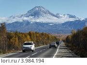 Дорога на Авачинский вулкан. Камчатка (2012 год). Редакционное фото, фотограф А. А. Пирагис / Фотобанк Лори
