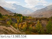 Купить «Осень в горах», фото № 3985534, снято 2 октября 2012 г. (c) Юлия Бабкина / Фотобанк Лори