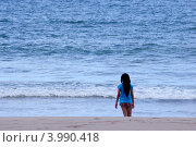 Девочка и море (2012 год). Стоковое фото, фотограф Igor5 / Фотобанк Лори