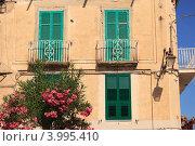 Купить «Традиционный итальянский дом, Тропея, Италия», фото № 3995410, снято 19 июля 2012 г. (c) Наталия Македа / Фотобанк Лори