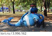 Парк кованых фигур в Донецке (2012 год). Редакционное фото, фотограф Кутдусова Марина / Фотобанк Лори