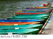 Лодки у пирса. Стоковое фото, фотограф Пакалин Сергей / Фотобанк Лори