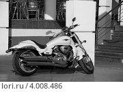 Припаркованный мотоцикл. Стоковое фото, фотограф Ольга Ларина / Фотобанк Лори