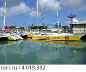 Купить «Экспресс на Барбуду. Отправление из Сент Джонса остров Антигуа (Карибские острова)», эксклюзивное фото № 4019882, снято 26 января 2008 г. (c) Ната Антонова / Фотобанк Лори