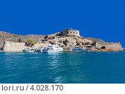 Купить «Крепость на острове Спиналонга, Крит», фото № 4028170, снято 30 августа 2012 г. (c) Дмитрий Ковязин / Фотобанк Лори