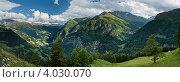 Панорама с видом на Альпы, Австрия (2011 год). Стоковое фото, фотограф Aleksandrs Jemeļjanovs / Фотобанк Лори