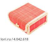 Красная коробка. Стоковое фото, фотограф Инна Шевелёва / Фотобанк Лори