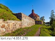 Купить «Крепость Карела», фото № 4051270, снято 31 июля 2012 г. (c) Лукманов Виталий / Фотобанк Лори