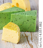 Различные виды сыра. Стоковое фото, фотограф Tatjana Baibakova / Фотобанк Лори