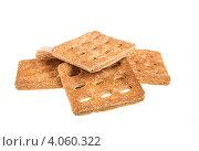 Купить «Сладкое печенье на белом фоне», фото № 4060322, снято 27 сентября 2012 г. (c) Андрей Старостин / Фотобанк Лори