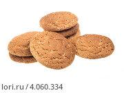 Купить «Овсяное печенье», фото № 4060334, снято 28 сентября 2012 г. (c) Андрей Старостин / Фотобанк Лори
