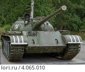 Танк Т-54 (2012 год). Редакционное фото, фотограф Виктор Карпов / Фотобанк Лори
