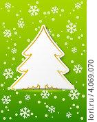Зимний фон с местом для текста. Стоковая иллюстрация, иллюстратор Евгения Малахова / Фотобанк Лори