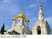 Купить «Ялтинский кафедральный собор Святого Александра Невского», фото № 4069130, снято 12 августа 2012 г. (c) Несинов Олег / Фотобанк Лори