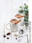 Купить «Горячее какао», фото № 4069350, снято 30 ноября 2012 г. (c) Лисовская Наталья / Фотобанк Лори