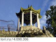 Купить «Царское Село. Беседка в китайском стиле», фото № 4090306, снято 29 сентября 2012 г. (c) Владимир Кошарев / Фотобанк Лори