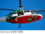 Вертолёт морских спасателей (2012 год). Редакционное фото, фотограф Игорь Ткачёв / Фотобанк Лори