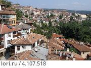 Купить «Дома в городе Велико Тырново, Болгария», фото № 4107518, снято 7 сентября 2012 г. (c) Валерий Шанин / Фотобанк Лори