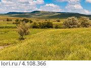 Купить «Пейзаж в окрестностях Ставрополя», фото № 4108366, снято 3 июня 2012 г. (c) Рожков Юрий / Фотобанк Лори