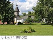 Купить «Северо-западная башня, Спасо-Андроников монастырь, Москва», эксклюзивное фото № 4108602, снято 23 июля 2012 г. (c) lana1501 / Фотобанк Лори