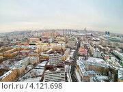 Купить «Москва. Район Хорошевский», фото № 4121698, снято 14 декабря 2012 г. (c) Зобков Георгий / Фотобанк Лори